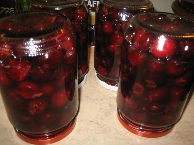 компот из вишни на зиму рецепты