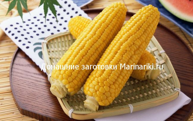 Как заготовить кукурузу в початках